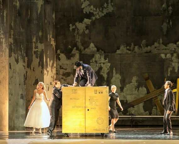Role debut as Donna Anna in Don Giovanni